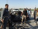 Đánh bom xe gây nhiều thương vong ở Tây Bắc Iraq