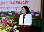Phó Chủ tịch nước dự lễ trao các danh hiệu vinh dự Nhà nước tại Hưng Yên