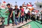 11 ngư dân trên tàu cá bị hỏng máy trên biển đã vào bờ an toàn