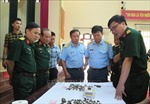 Bàn giao mẫu vật của các liệt sĩ phi công hy sinh tại Tam Đảo