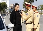 Hà Nội: Mở đợt cao điểm kiểm tra lái xe sử dụng chất gây nghiện, rượu bia
