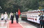 Lễ đón Tổng thống Cộng hòa Argentina Mauricio Macri và Phu nhân thăm cấp Nhà nước tới Việt Nam