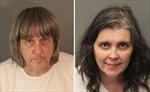 Mỹ: Cặp vợ chồng bạo hành 13 con đẻ nhận tội