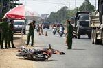 'Hung thần' chở dăm gỗ va chạm xe máy khiến một thanh niên tử vong