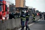 Một xe buýt chở đầy học sinh bị bắt cóc