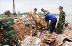 An Giang thu giữ hơn 12 tấn phế liệu nhập lậu qua biên giới