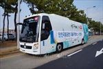 Nhật Bản sắp ra mắt xe buýt với công nghệ hỗ trợ tự động dừng xe
