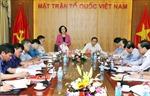 Đoàn Tiểu ban Văn kiện Đại hội XIII làm việc với Đảng đoàn MTTQ Việt Nam