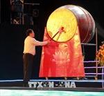 Phó Thủ tướng Vương Đình Huệ đánh trống khai mạc Lễ hội Du lịch Cửa Lò