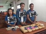 Bắt giữ 3 đối tượng người Lào vận chuyển 60.000 viên ma túy tổng hợp