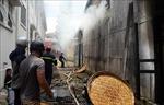 Cháy lớn tại Trung tâm Nghiên cứu thực nghiệm Nông - Lâm nghiệp Lâm Đồng