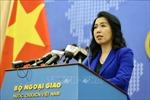 Người Phát ngôn Bộ Ngoại giao Lê Thị Thu Hằng phát biểu về diễn biến gần đây ở Biển Đông