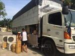 Phát hiện vụ vận chuyển 341 bộ điều hòa không giấy tờ về Hà Nội tiêu thụ