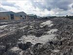 Vỡ đập chứa nước thải, lãnh đạo nhà máy cho rằng do mưa lớn