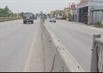 Nghệ An: Lưới chống lóa trên tuyến Quốc lộ 1A bị mất cắp, tiềm ẩn nhiều nguy hiểm
