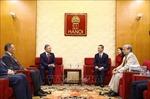 Chủ tịch Hạ viện Kazakhstan giao lưu với cán bộ, giảng viên, sinh viên Đại học Hà Nội