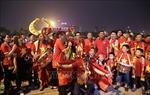 Không khí tại sân vận động Mỹ Đình trước trận Việt Nam - UAE