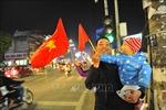Trắng đêm 'đi bão' mừng U22 Việt Nam vô địch SEA Games 30