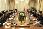 Phó Thủ tướng Vương Đình Huệ hội đàm với Phó Thủ tướng Belarus