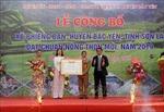 Xã vùng III Phiêng Ban đạt chuẩn nông thôn mới