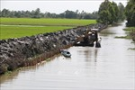 Xâm nhập mặn ở Đồng bằng sông Cửu Long sẽ đạt mức cao nhất vào cuối tháng 1