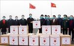 Trao tặng hàng hỗ trợ tỉnh Quảng Tây (Trung Quốc) phòng, chống dịch COVID-19