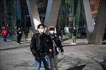 Nhiều người dân New York đeo khẩu trang để phòng, chống dịch COVID-19