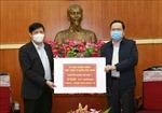 Ủy ban Trung ương MTTQ Việt Nam phân bổ 150 tỉ đồng tiền ủng hộ đợt 1 cho Bộ Y tế