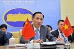 Hội nghị trực tuyến giữa hai Tổng thư ký Ủy ban chỉ đạo hợp tác song phương Việt Nam- Trung Quốc