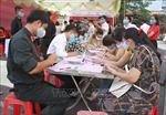 Hiến máu tình nguyện kết hợp tuyên truyền phòng, chống dịch COVID-19