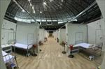 Cận cảnh Bệnh viện dã chiến Cung thể thao Tiên Sơn