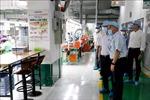 Kiểm tra công tác phòng, chống dịch COVID-19 tại các nhà máy ở Đà Nẵng