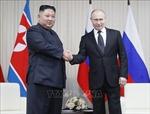 Lãnh đạo Nga, Triều Tiên trao đổi điện mừng nhân ngày giải phóng Bán đảo Triều Tiên