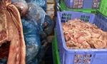 Phát hiện xe ô tô vận chuyển 3 tạ bì lợn đã ôi thiu