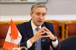 Canada dừng đàm phán về hiệp định thương mại tự do với Trung Quốc