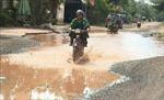 Sớm khắc phục tình trạng đường ngập lụt ở xã Phú Riềng, Bình Phước