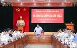 Cho ý kiến về dự thảo Văn kiện và Đề án nhân sự Đại hội Đảng bộ Khối các cơ quan Trung ương lần thứ XIII