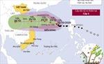 Dự báo bão số 8 hướng vào khu vực miền Trung