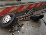 Tai nạn giao thông trên cao tốc Hà Nội - Bắc Giang làm 3 người thương vong