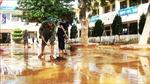 Theo dõi chặt diễn biến bão số 8, khẩn trương khắc phục hậu quả mưa lũ