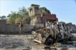 Đánh bom và đấu súng tại đồn cảnh sát ở Afghanistan