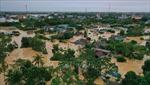 Quảng Trị: Nước sông đang lên, nguy cơ xảy ra trận lũ thứ 5 trong 20 ngày