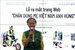 Ra mắt trang web lưu giữ hơn 2.000 kí họa 'Chân dung Mẹ Việt Nam Anh hùng'
