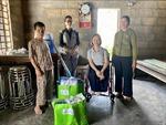 Hỗ trợ người khuyết tật tỉnh Thừa Thiên – Huế sớm ổn định cuộc sống sau bão, lũ