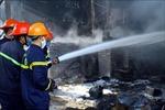 Kịp thời dập tắt vụ cháy tại kho chứa dung môi sơn PU