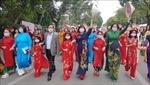 Tôn vinh tà áo dài truyền thống trong 'Hương sắc Tràng An'