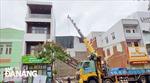 Di dời học sinh do nhà cạnh trường bị nghiêng tại Đà Nẵng