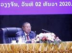 Lào mít tinh trọng thể kỷ niệm 45 năm Quốc khánh và 100 năm Ngày sinh Chủ tịch Kaysone Phomvihane