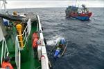 Cứu nạn 4 thuyền viên nước ngoài bị trôi dạt trên biển