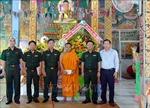 Lãnh đạo Quân khu 9 thăm, chúc Tết Chôl Chnăm Thmây năm 2021 tại Sóc Trăng